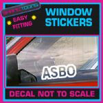 ASBO FUNNY CAR WINDOW VINYL STICKER SIGN DECAL LAPTOP GRAPHICS NOVELTY GIFT